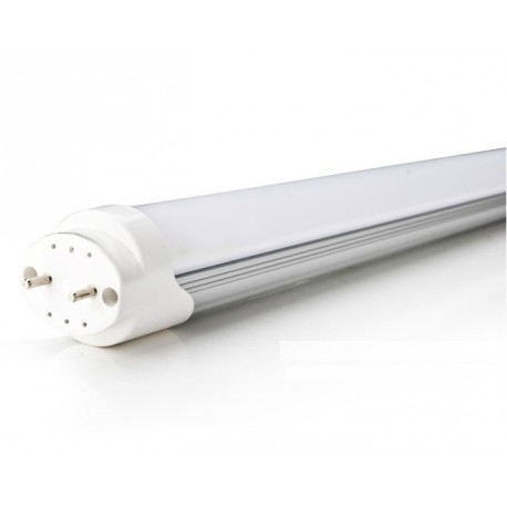Tube LED neon 60cm 30W T8 BLANC CHAUD VERRE OPAQUE